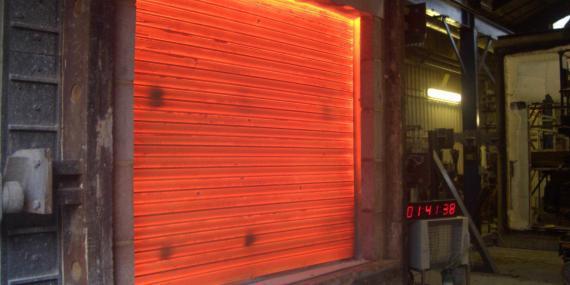 Sarmal Yangın Kapısı